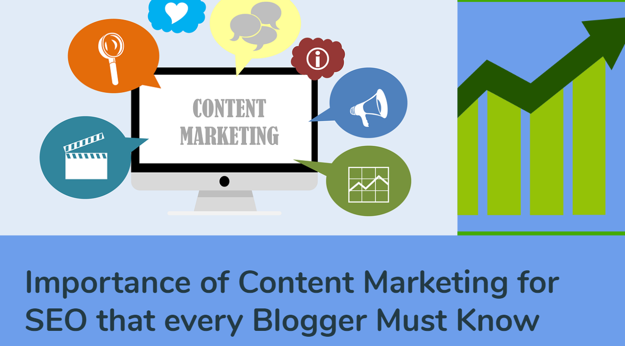 Importance of Content Marketing for SEO that every Blogger Must Know