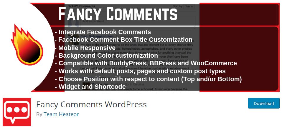 Fancy Comments Plugin Review-: Easiest Way to Integrate Facebook comments on WordPress