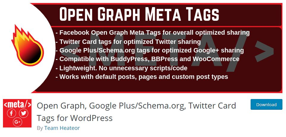How to optimize Social Sharing with Open Graph Meta Tags in WordPress