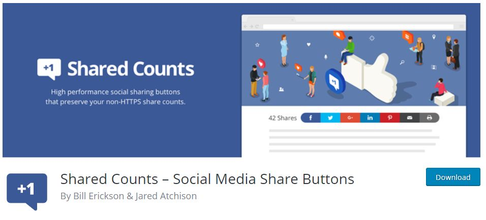 Shared Counts- Social Media Share Buttons Plugin Review