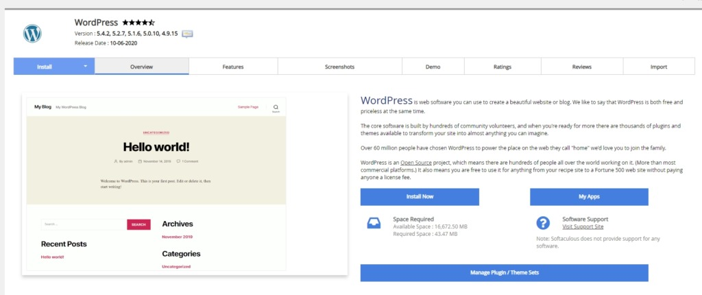 How to Install WordPress on Addon Domain using cPanel
