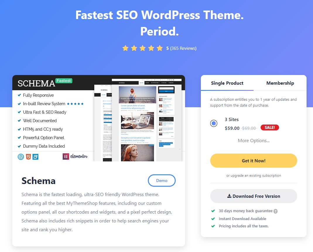 Top 10 Best Free SEO Friendly WordPress Themes