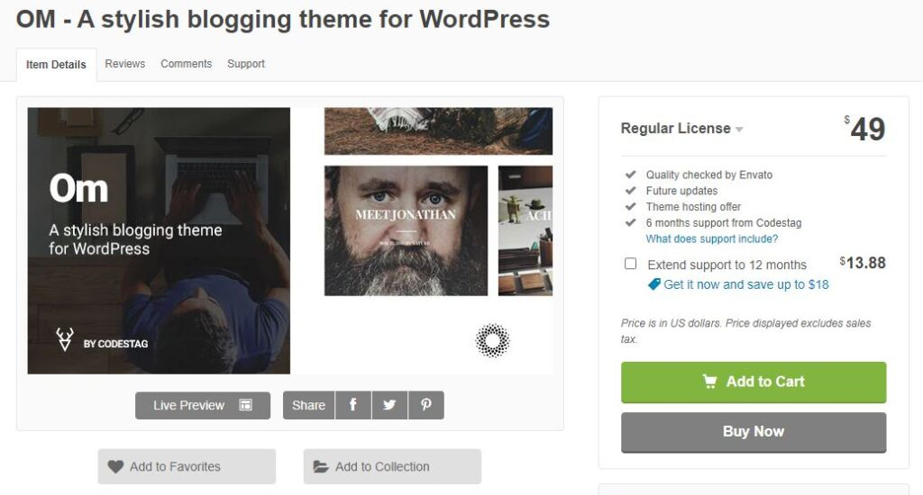 Best WordPress Theme for Writers and Authors