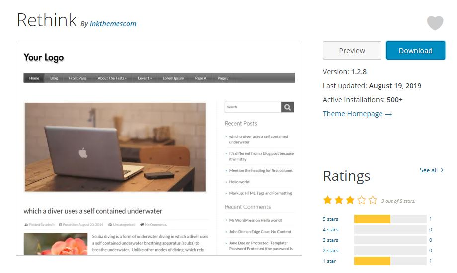 18 Best WordPress Review Theme
